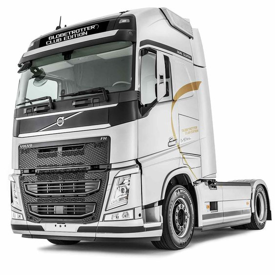 SPECIFICATIONS for Volvo FH Globetrotter Club Edition