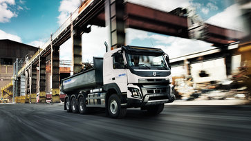 Volvo FMX Trucks Rental