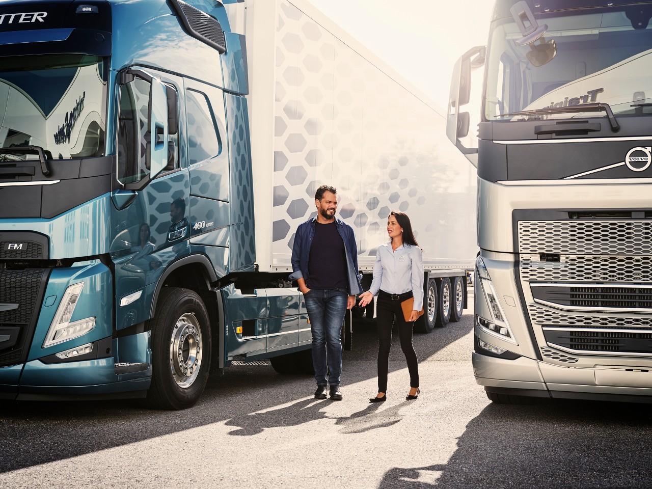 Služby pro nákladní vozidla– navržené pro vaše podnikání