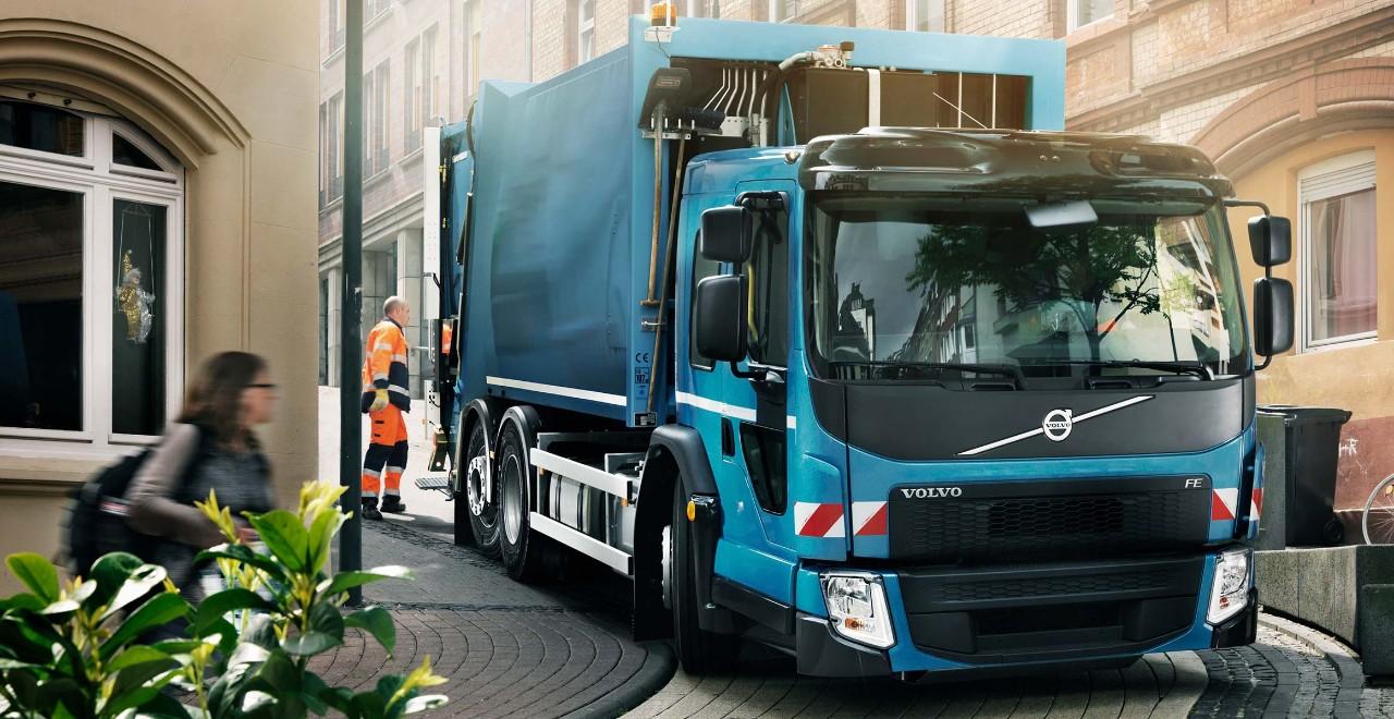 Volvo FE – kabina pro snadné nastupování